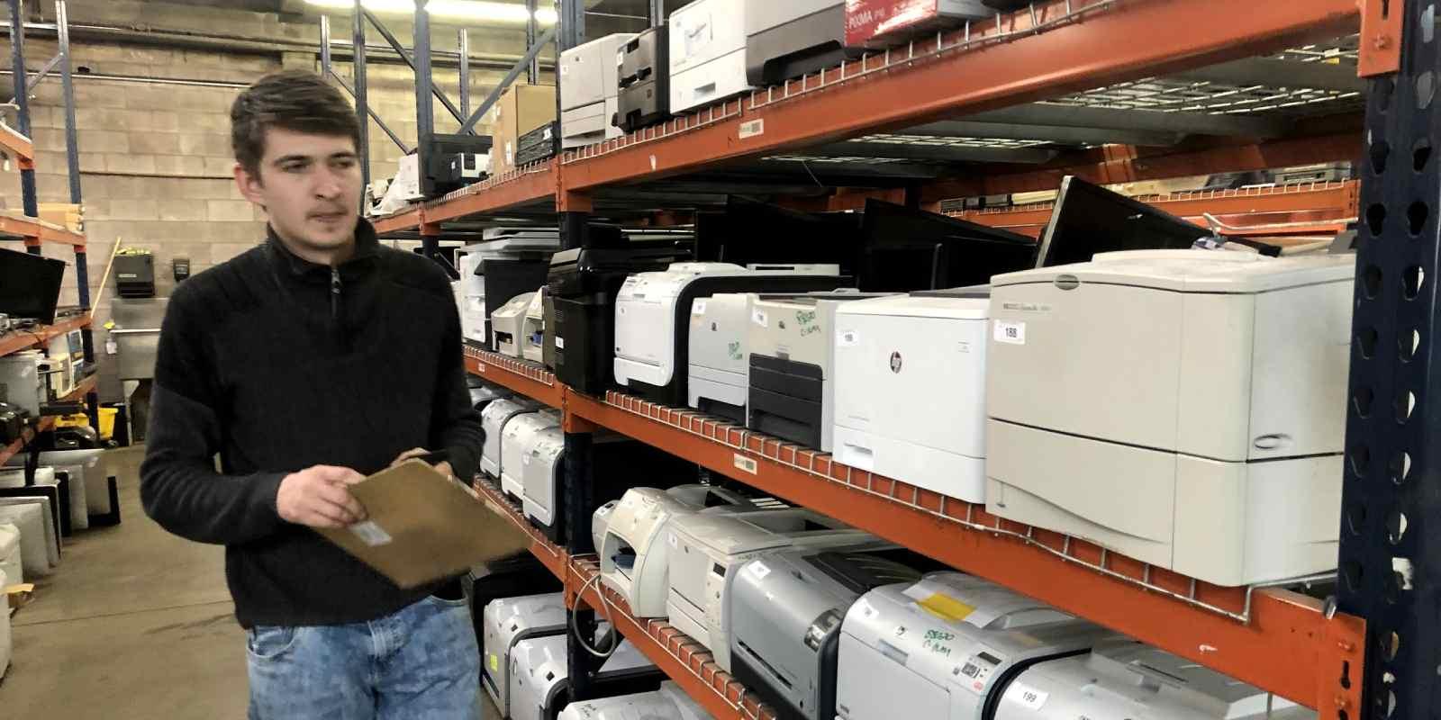 Mark assessing business printers